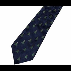 American Greetings Men's Christmas Tree Necktie